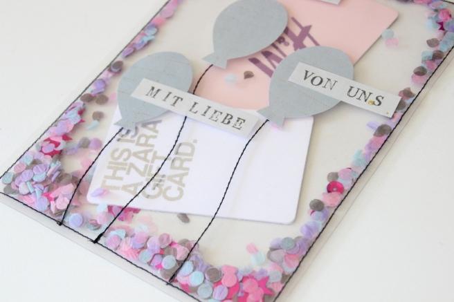 Schütteltüte DIY Geschenkverpackung