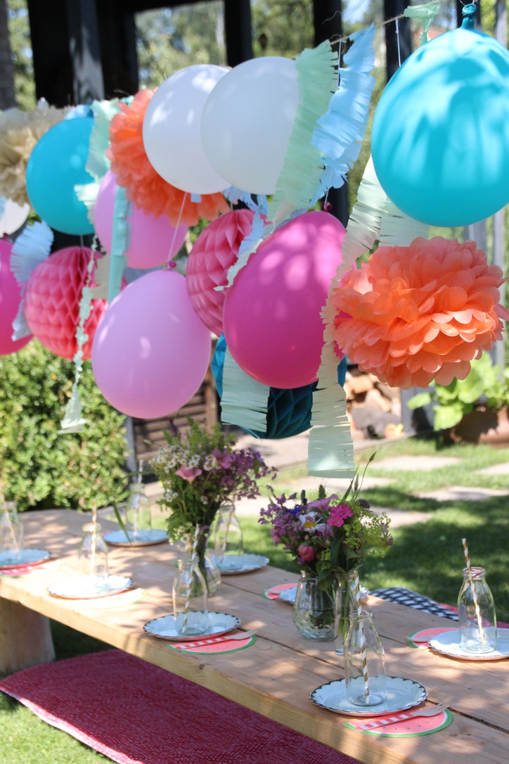 Sommerparty Partydeko Kinder