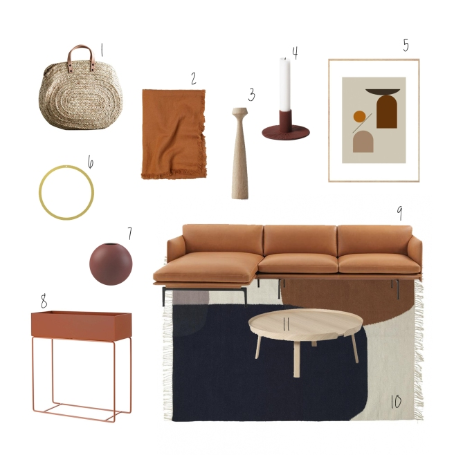 Farbtrend Herbst 2018 Braun Interioritems