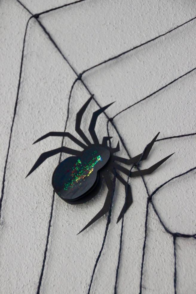 Halloween Deko Spinnennetz