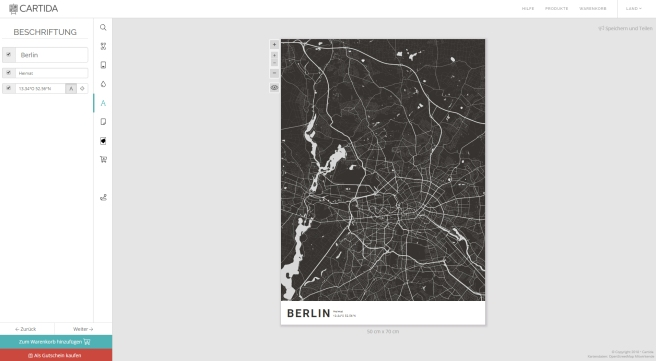 Screenshot Cartida