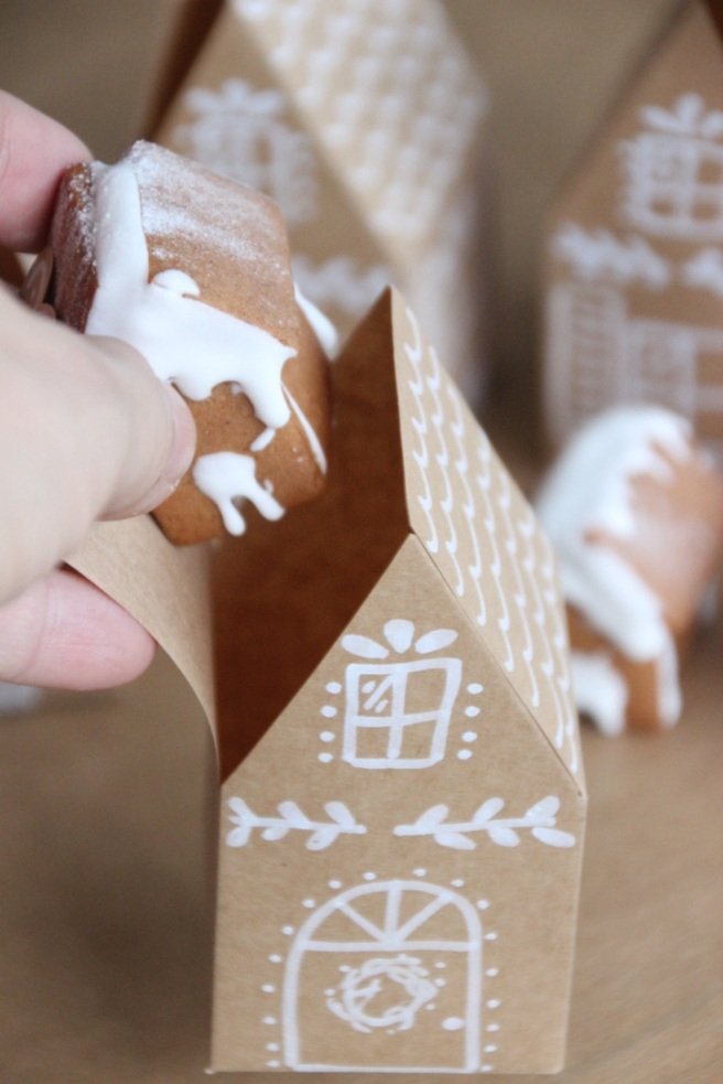Lebkuchenhaus Verpackung Gingerbread House