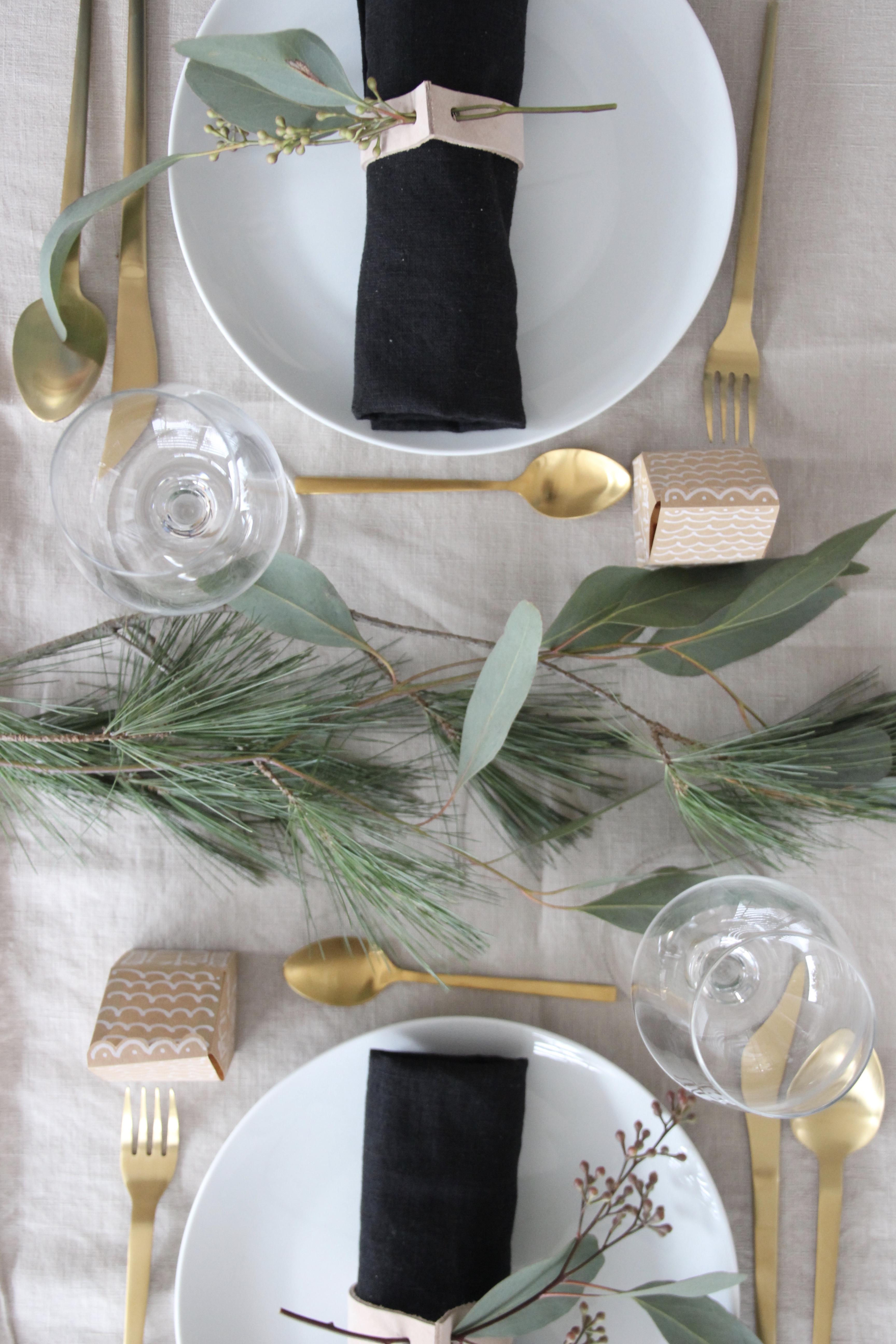 Weihnachten Tischdekoration