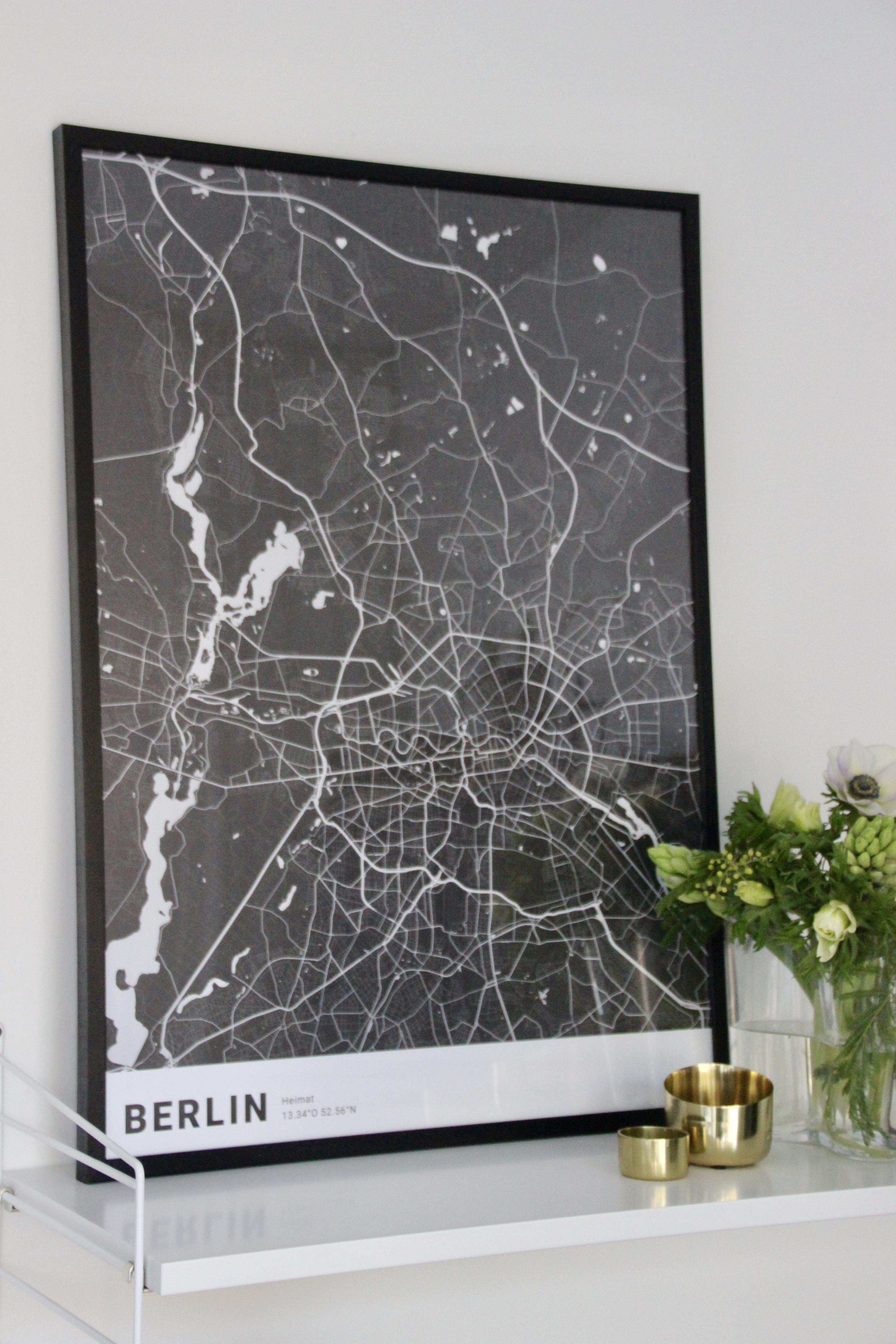 Cartida Lieblingsstadt Posterdesign Städteposter