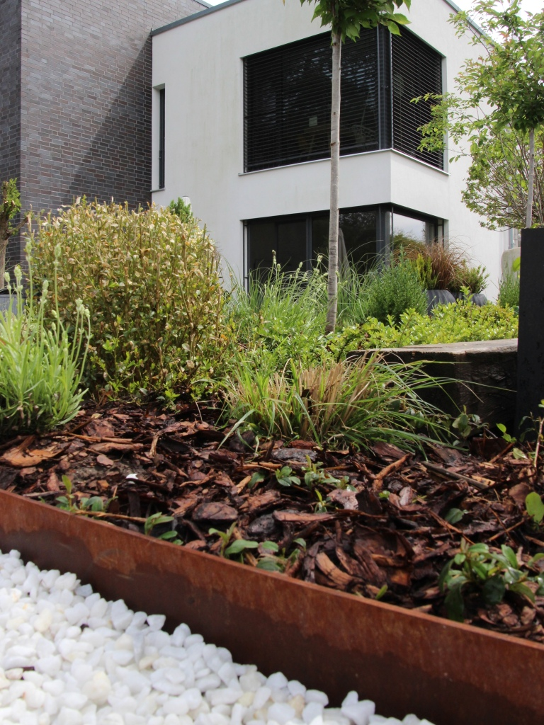 Gartenprojekt Cortenstahl der ums manufaktur